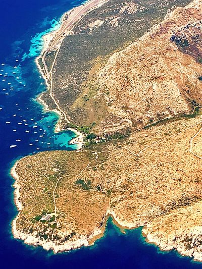 Tyrrenian Sea, Italy Tyrrhenienne Sea Scenics Beauty In Nature Aerial View No People Landscape Travel Destinations Stonegraphix Low Angle View Investing In Quality Of Life Beauty In Nature Breathing Space EyeEmNewHere Beach Sardegna Sardinia