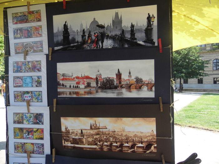 Art Colorfull Frames Handmade Painted Pictures Praga Street Art Visual Poetry Art Is Everywhere