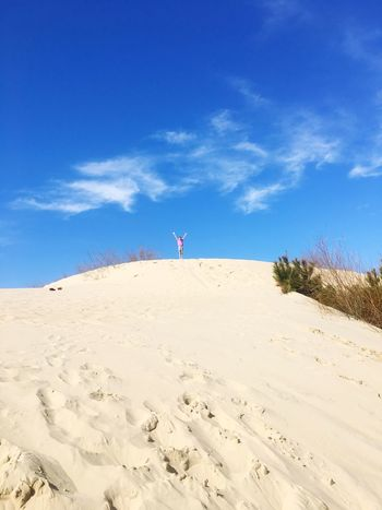 Queen of the sand dune Sand Blue Sky Outdoors One Person Nature Day Sand Dune Beauty In Nature Vacations