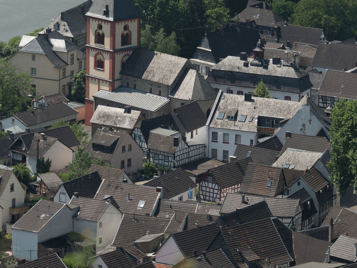 Erpeler Ley - way up and view - Erpel Town from above Erpeler Ley MedievalTown Nature Architecture Beauty In Nature Building Building Exterior Built Structure Community Day Elevated View High Angle View House No People Outdoors Residential District Roof Roof Tile Town TOWNSCAPE Tree
