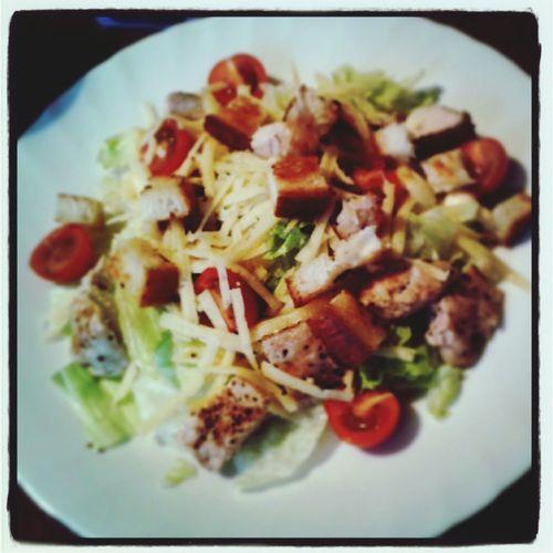 Caesar In My Mouf Salat Foodphotography Home