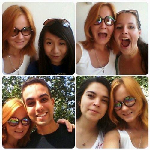 Селфи с иностранцами китай Бразилия турция словения россия