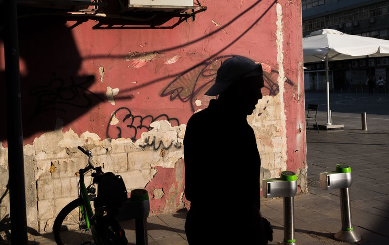 Pink St Street Art City Life Silhouette People Lifestyles Young Adult Outdoors Streetphotography City Street Photography Street Style Colour Streetphoto_color Light And Shadows Candid Sneak Shot EyeEmNewHere Real People Candidmoments Street Close-up ColourOFlife Lightandshadow Men Pink