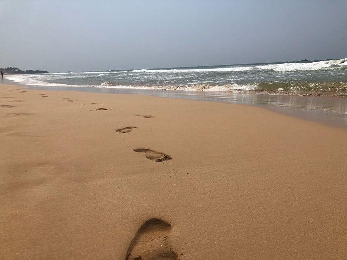 Feet along the