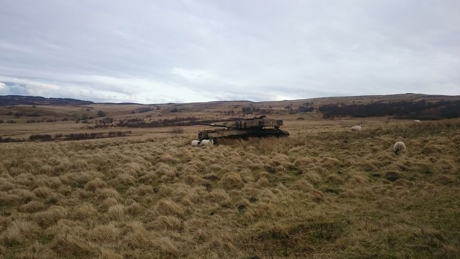 Chieftain tank, range target. Otterburn Ranges Range Wrecks Target Bombing Target Bombing Range Military Chieftain Tank First Eyeem Photo