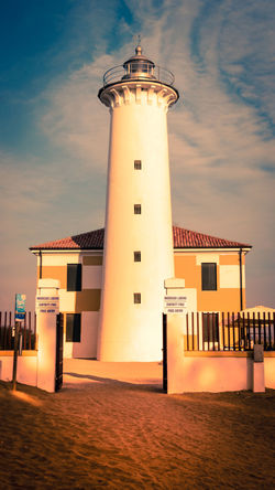 Lighthouse of Bibione Bibione Lighthouse Beach Italy Sand Sea Италия Маяк бибионе