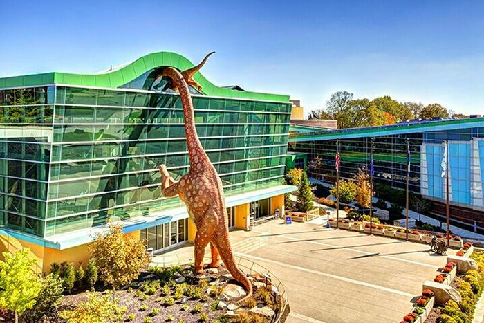 Taking Photos Check This Out Museum Dinosaurs America August2016 Showcase August Summer 2016 How Is The Weather Today? Discover Your City Blue Sky Architecture Colours Of Summer Dino Museum Life Hi! Cheese!