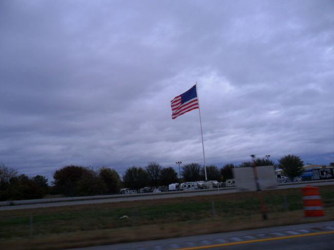 American Flag Arkansas Blindshot Flag Identity Low Angle View Outdoors Patriotism Perspective Pole Sky