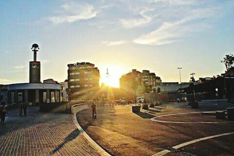 Barcelona Barcelona, Spain Sants Puesta De Sol Puesta De Sol Increible Puesta De Sol En El Mediterráneo