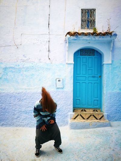Morocco Morocco Travel Morocco Photos Chefchouen Blue Bluecity Rockthekasbah Vans Vansoffthewall Vansshoes First Eyeem Photo