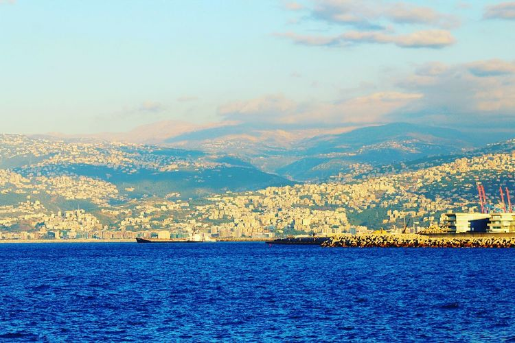 Beirut Lebanon Cornish Landscape Beachphotography