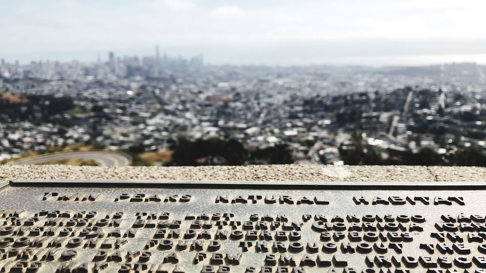 Scenics San Francisco Twinpeaks Built Structure Script Western Script Building Exterior Sky