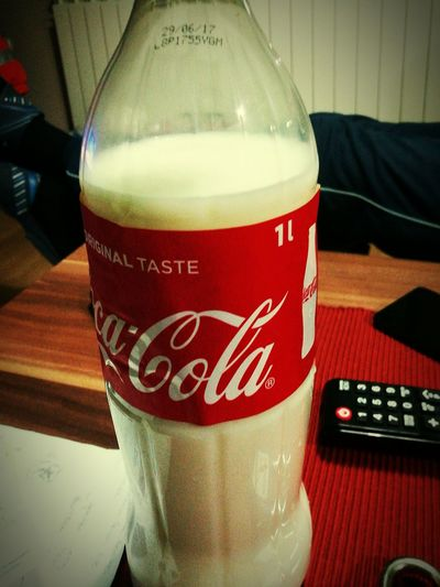 Coca-Cola Food And Drink Drink Indoors  Close-up Coca Cola Life Coca-Cola ❤ Cocacolalife Coca~Cola ® Milk Mil