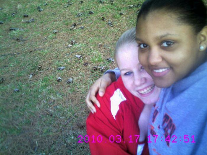 Haha my #athletic days playin tennis with the bestie
