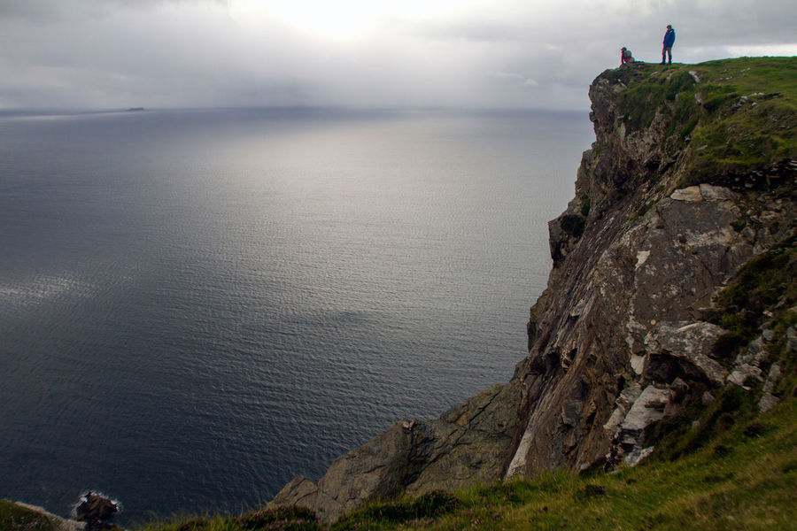 Looking out to Bill's ROck from the cliffs on Minaun, Achill Island, Ireland. Achill Beach Cliff Coastline Exploring Geology Horizon Over Water Ireland Physical Geography Rock Rock - Object Rock Formation Rough Scenics Sea Sea And Sky Seascape Shore Surf Tranquil Scene Voyage Water
