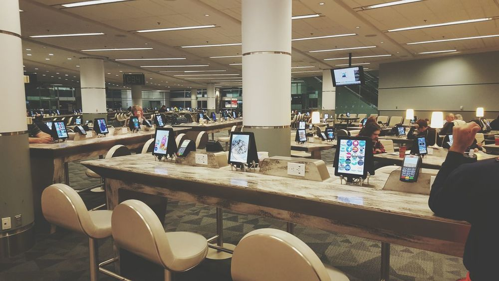 Indoors  Business Finance And Industry Ipad Abundance Devices Airport Modern Technology Technology Modern