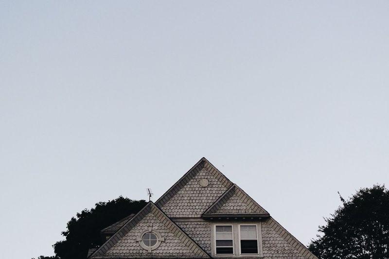 Minimalism Minimal Minimalobsession Vscocam Simplicity House Sky Triangle Nikon