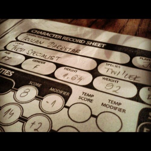 Rpg Dnd Games Sheets