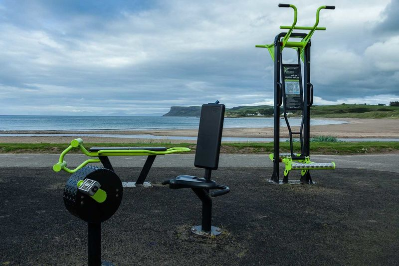 Atlantic Ocean Northern Ireland Ocean View Beauty In Nature Day Fitness Fitness Training Gym Gym Time Healthy Healthy Lifestyle Nature No People Outdoors Scenics Sky Sport Training