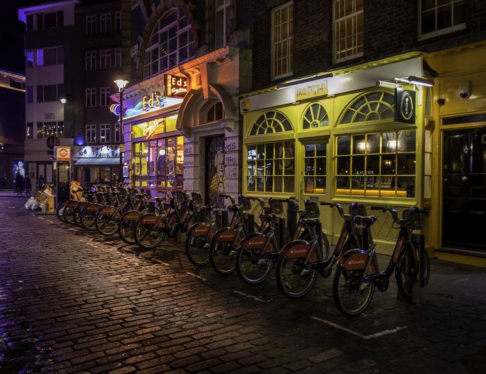 Architecture City Illuminated London London At Night  London Lifestyle London Streets Night No People Outdoors Street Street Life Streetphotography Vgallova Vgallovaphotography EyeEm LOST IN London Neon Life