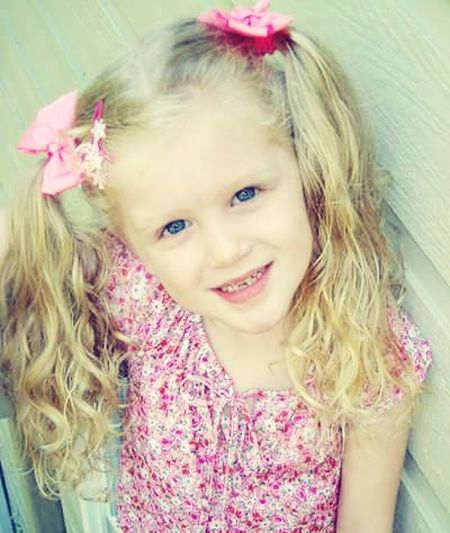 pigtails and missing teeth Pig Tails Curly Hair Missing Tooth Beautiful One Girl Only Child Children Only Girls Childhood Portrait Blond Hair