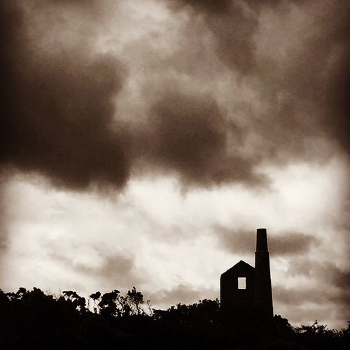 Tin mine at Scorrier Tin Mines Cornwall Tin Mine Cornwall Kernow Scorrier
