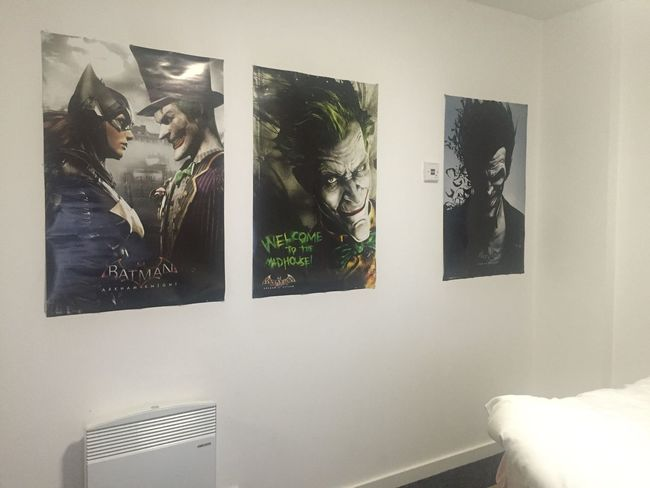 my room :) love the joker.. Batman Joker Poster Interior Design Interior Views Indoors  My Room My Happy Place  Thoughts Home Home Sweet Home Home Interior Check This Out Hello World Taking Photos No Filter Eye4photography  Atmosphere Atmospheric Mood Showcase March EyeEm Best Shots Capture The Moment EyeEmBestPics EyeEm Masterclass Getting Inspired
