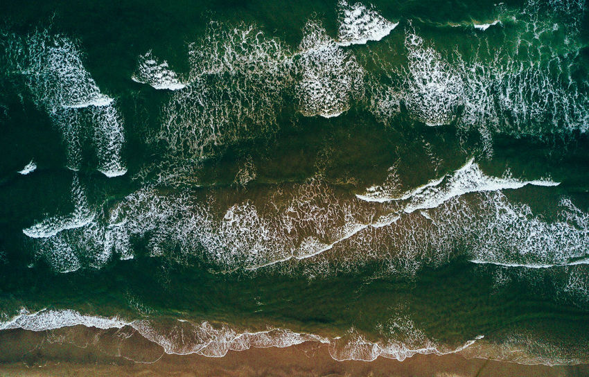 Beauty In Nature Close-up Day Denmark Dji Drone  Freshness Mavic Nature Nature No People Nordsee Outdoors Sea Seascape VSCO Water Waterfront Wave Fresh On Market 2017