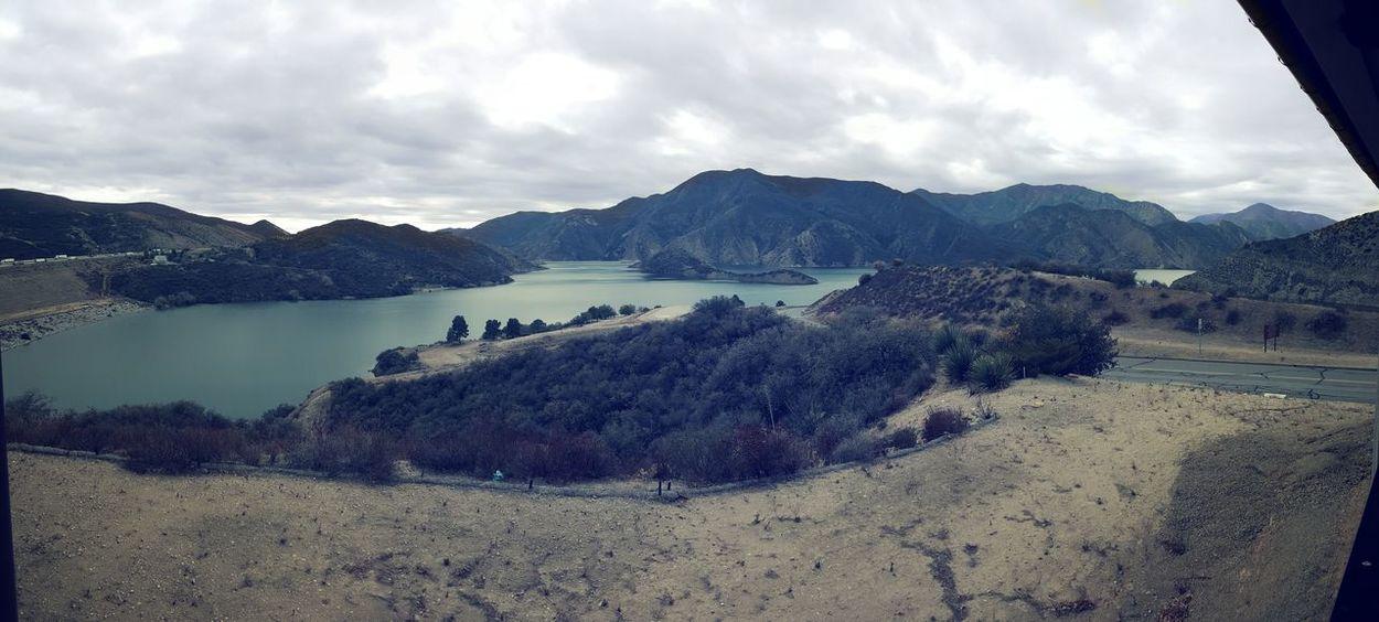 On The Road Taking Photos Vista Del Lago