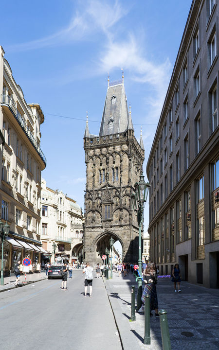 Views of the main monuments and streets of Prague, in the Czech Republic Architecture Building Exterior Built Structure Capital Cities  City Day European  History Landscape Large Group Of People Medieval Architecture Men Outdoors People Prague Czech Republic Real People Sky Street Stunning Sunlight Travel Destinations Women