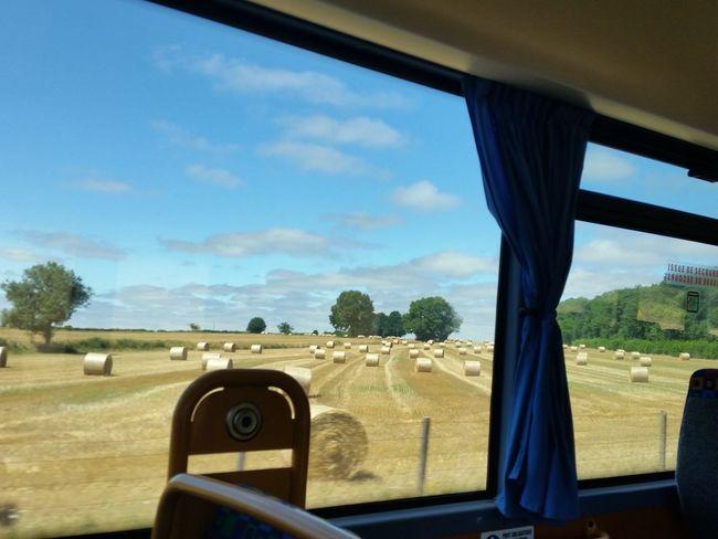 Transportation Travel Autocar Countryside France 🇫🇷