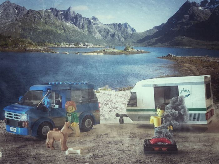 Camping Mountain Outdoors Sky Multivisio Shotwithiphone7plus Iphoneedit Norway Miniature LEGO Camping