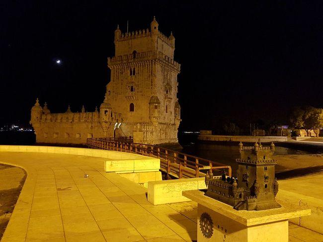 Night Travel Destinations Architecture Illuminated Built Structure Fort Belém Belem Tower Lisbon - Portugal Lis
