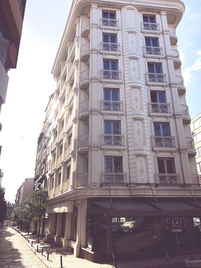 Şişli Osman Bey Istanbul Hotel Architecture Built Structure Building Exterior Low Angle View Day Window Outdoors Sky Sunlight No People First Eyeem Photo