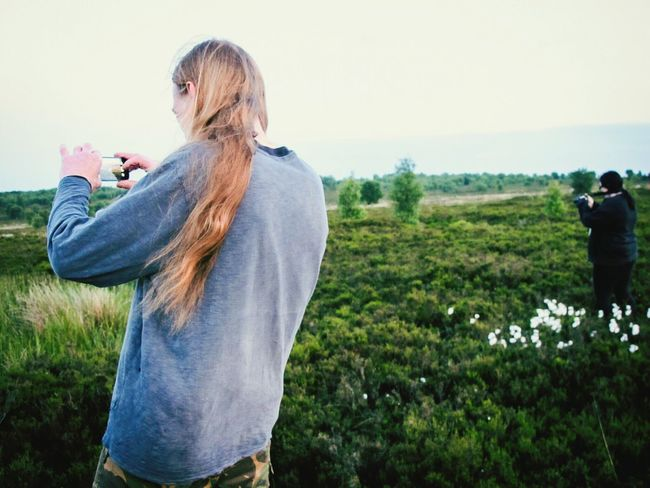 Portrait Man Daughter Taking Photos Moors Norland Moor Grass POV Landscape Nature Photography Yorkshire Golden Hour Overgrown And Beautiful Tall Grass Twillight Naturelovers Nature On Your Doorstep Naturephotography Windy Moor Moorland People People Watching 43 Golden Moments Parallel Wild