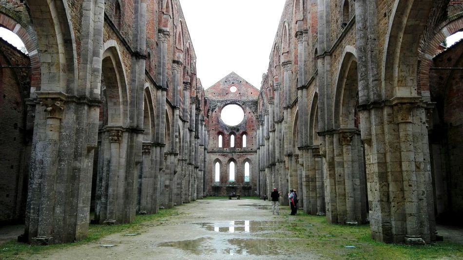 Architecture Discoveritaly Abbey Ruins Sangalgano Tuscany Tourism History Pictureoftheday Best Of EyeEm Ruins Magical Places Abbey Discovertuscany Legendary The Past Scenics Photooftheday Tuscanygram Famous Place Magical Place Medieval Travel Destinations Old Ruin Built Structure Solitude