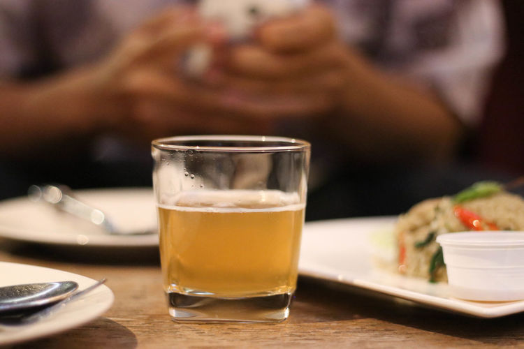 Close-up Day Drink Drinking Glass Focus On Foreground Food Food And Drink Freshness Indoors  Lifestyles One Person People Real People Table