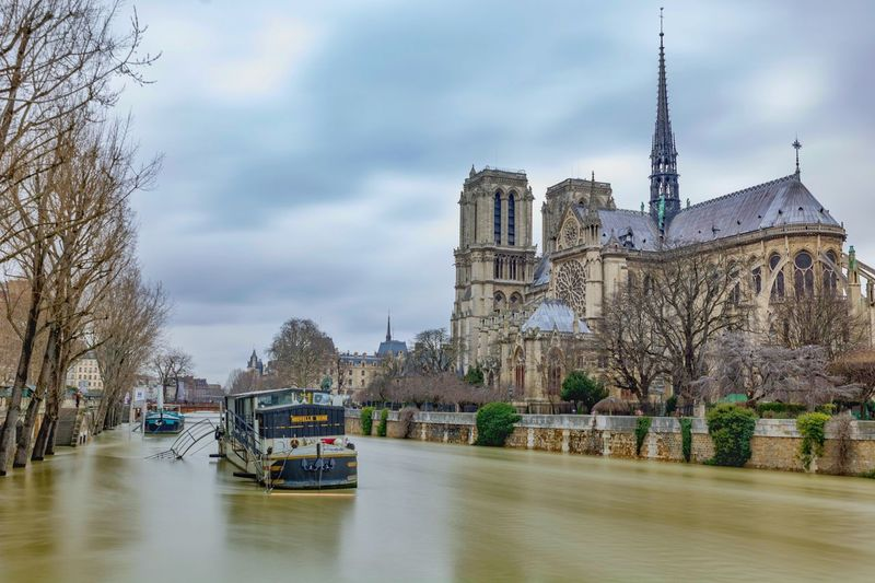 Flooding paris
