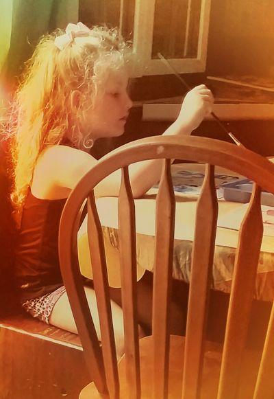 Creative Innocence Chloe Quinn Indoors  Day One Person Close-up People Thingsthatmakemesmile Richwood Texas Enjoying Life Fragility Streamzoo Family 2017 Illuminated Love