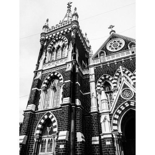 Church Mountmerry Merry Classic Architecture Ancient Beautiful Fortheloveofblackandwhite Mumbaimerijaan Mumbai Things2doinmumbai ⛪ Mumbaibestgram Mymumbai