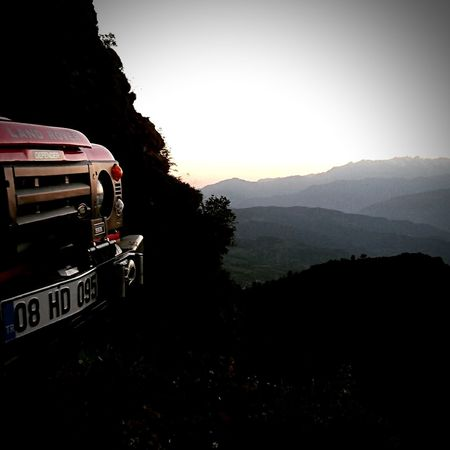 No People Mountain Tree Sunset Nature Outdoors Landscape Sky Beauty In Nature Day Landrover Defender Defender_life_style Landroverlove Defender90 Mountain Range Offroad EyeEmNewHere