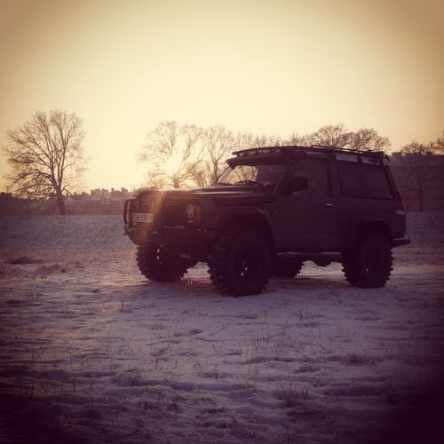 4x4 4x4 Patrol Mud Winter