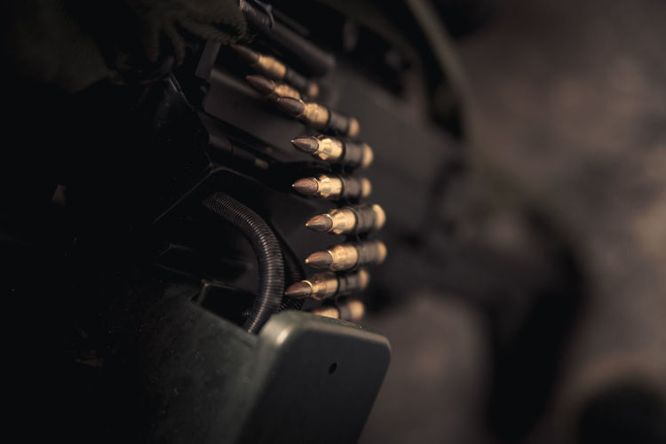 Close-up of bullet