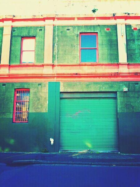 Innerwest Newtown Buildings False Color