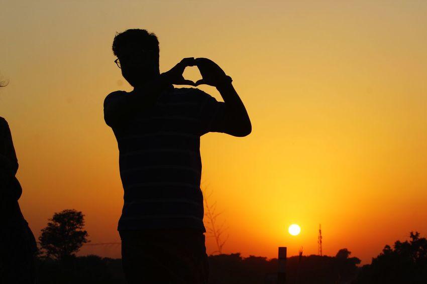 EyeEm Selects City Sunset Cityscape Silhouette Statue Sky Civilization