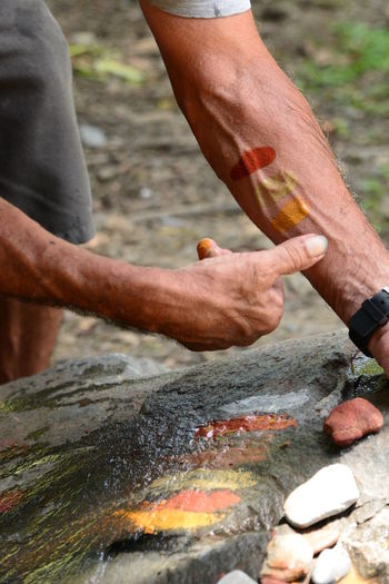 Aboriginal culture. mossman. tropical north queensland. australia