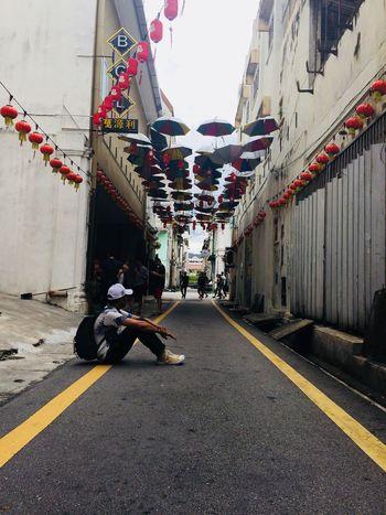 Men Street Road People Day