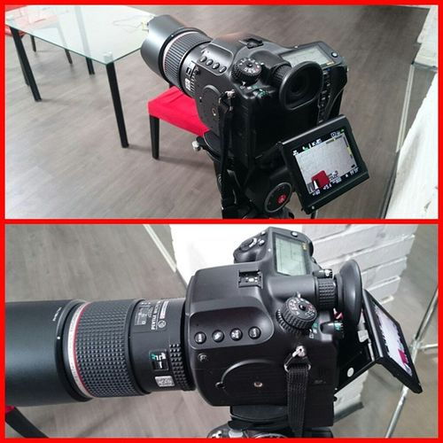 Новая камера Pentax. Стоит около миллиона рублей без объектива. Снимает 4K.
