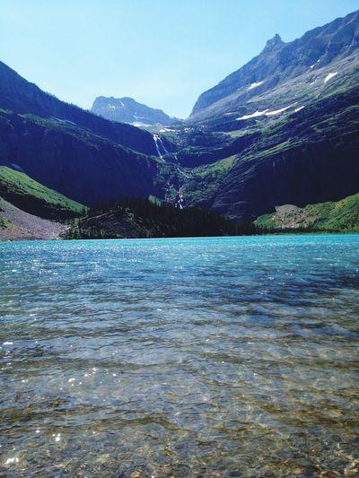 Montana Glacier National Park Grinnell Lake