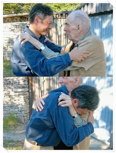 Ang Lee meeting Ingmar Bergman in 2006. Touching Moments Admiration Respect Of Elders Master Of Cinema Cinefilos Ingmar Bergman Ang Lee Faces Of EyeEm